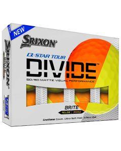Srixon Q Star Tour Divide Orange Golf Balls Packaging