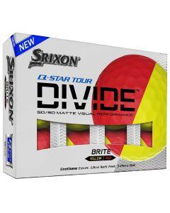 Srixon Q Star Tour Divide Red Golf Balls Packaging