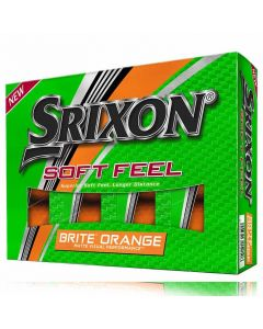Srixon Soft Feel 11 Brite Orange Golf Balls