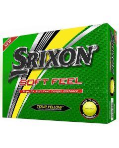 Srixon Soft Feel 11 Yellow Golf Balls