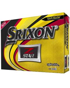 Srixon Z-Star 6 Yellow Golf Balls