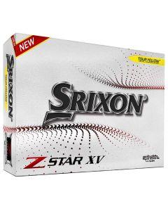 Srixon Z Star 7 Xv Yellow Golf Balls Packaging