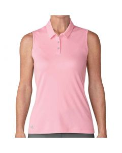 Adidas SS18 Women's Performance Sleeveless Polo Light Pink