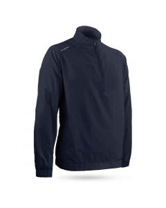 Sun Mountain Brushed Solo Wind Pullover Navy
