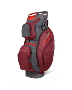 Sun Mountain 2019 C-130 5-Way Cart Bag Chili/Gunmetal