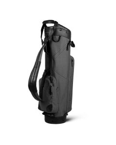 Sun Mountain 2019 Canvas/Leather Cart Bag Slate
