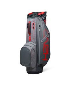 Sun Mountain 2019 H2NO Superlite Cart Bag Gunmetal/Space Grey/Red