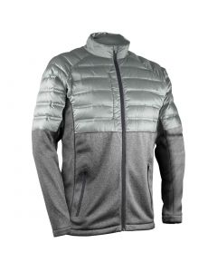 Sun Mountain 2020 AT Hybrid Jacket Platinum/Steel Heather