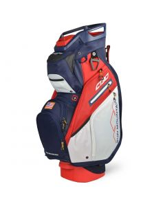 Sun Mountain 2020 C-130 5-Way Cart Bag Navy/White/Red