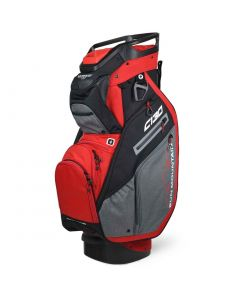 Sun Mountain 2021 C-130 Cart Bag Carbon/Red/Black