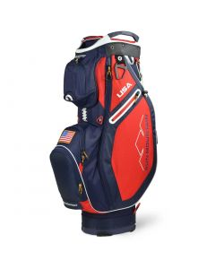 Sun Mountain 2020 Sync Cart Bag Navy/White/Red