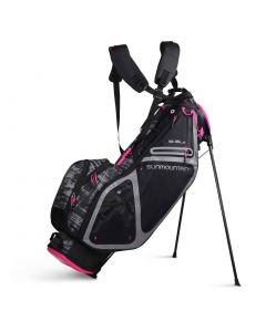 Sun Mountain 2020 Women's 3.5 LS Stand Bag Black/Galaxy/Pink