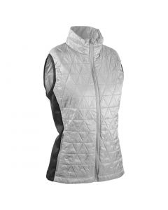 Sun Mountain 2020 Women's AT Hybrid Vest White/Steel Heather