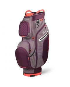Sun Mountain 2020 Women's Diva Cart Bag Plum/Coral