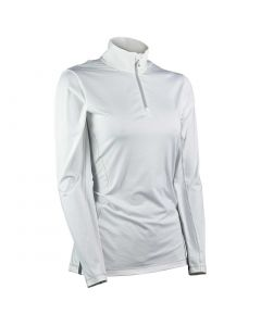 Sun Mountain 2020 Women's Second Layer Pullover White