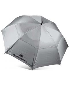 Sun Mountain Auto Inch Umbrella Silver