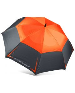 Sun Mountain Manual Inch Umbrella Gunmetal Inferno