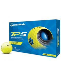 Taylormade Tp5 Yellow Golf Balls Hero