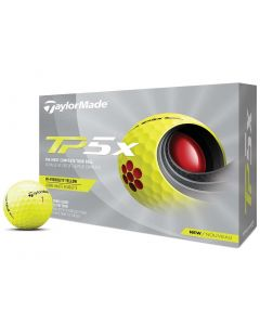 Taylormade Tp5x Yellow Golf Balls Hero