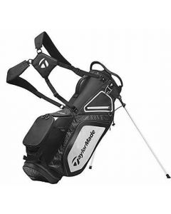 Taylormade Stand Bag Black White Charcoal