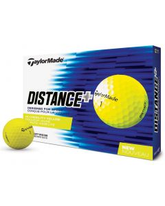 TaylorMade Distance+ Yellow Bagged Golf Balls