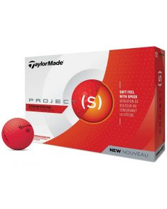 TaylorMade Project (s) Red Golf Balls