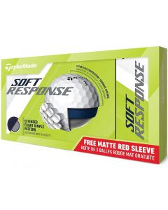 TaylorMade Soft Response 15-Pack White Golf Balls