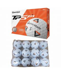 Taylormade Tp5 Pix 2 0 Practice Bagged Golf Balls Beauty