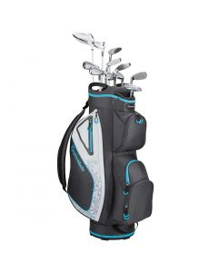 TaylorMade Women's Kalea 3 Complete Set Charcoal/Blue
