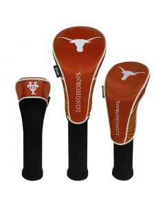 Team Effort NCAA Set of 3 Headcovers Texas