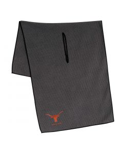 Team Effort NCAA Grey Microfiber Towel Texas