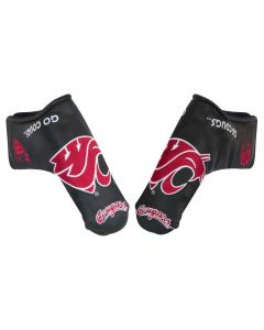 Team Effort NCAA Black Blade Putter Cover