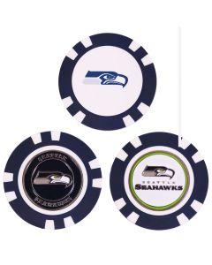 Team Golf NFL Poker Chip Ball Marker Seattle Seahawks