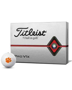 Titleist 2019 Pro V1x NCAA Golf Balls Clemson
