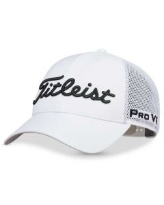 Titleist Tour Performance Mesh Legacy Hat White/Black