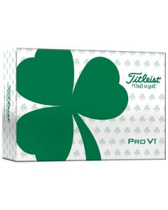 Titleist 2021 Pro V1 Shamrock 6-Pack Golf Balls