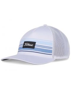 Titleist Surf Stripe Monterey Hat White Navy