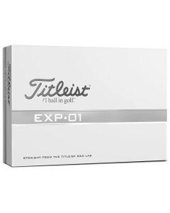 Titleist Exp 01 Golf Balls Box