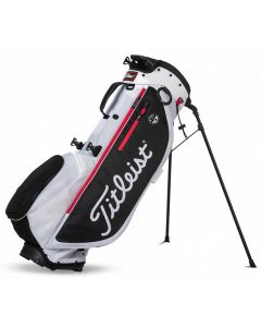 Titleist Players 4 Plus Stand Bag White/Black/Red
