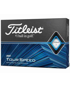 Titleist Tour Speed Golf Balls Box Left Face