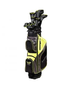 Tour Edge Bazooka 470 Black Complete Set W Cart Bag