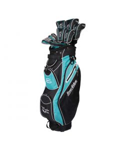 Tour Edge Women_s Moda Silk Package Set Black Light Blue