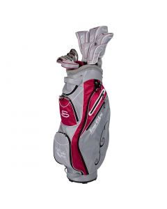 Tour Edge Women_s Moda Silk Package Set Silver Ruby