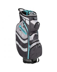 Tour Edge Womens Hot Launch Xtreme Cart Bag Silver Blue