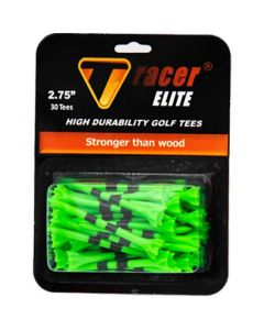 Tracer Elite 2 75 Inch Golf Tees Green