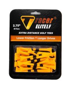 Tracer Elite Low Friction 2 75 Inch Golf Tees Orange