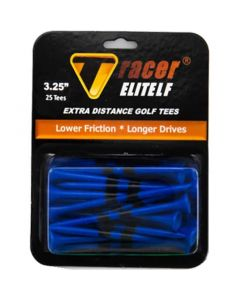 Tracer Elite Low Friction 3 25 Inch Golf Tees Blue