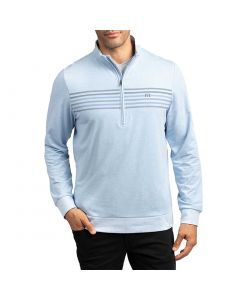 Travismathew 2 Drink Minimum Pullover Blue