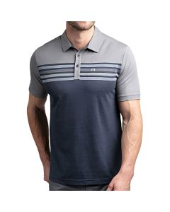 Travismathew All Day Every Day Polo Grey Blue