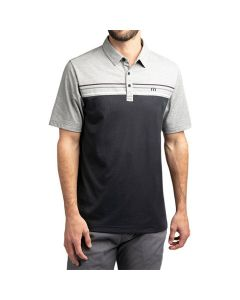 Travismathew Backstage Polo Black Grey